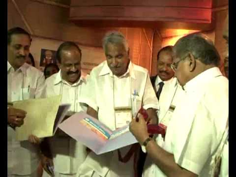 Pravasi Bharathiya Divas- Kerala pavilion Inauguration by Mr.Vayalar Ravi with CM Shri.Oommen Chandy