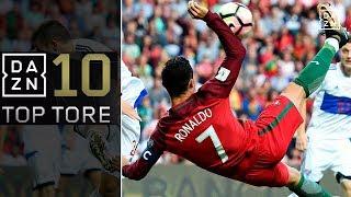Top10: WM-Quali-Gala mit Cristiano Ronaldo, Isco und Co. | Top 10 Tore | WM-Quali | DAZN