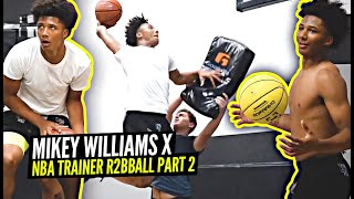Mikey Williams Looking SCARY Working w/ NBA Trainer Ryan Razooky!! All Access Workout Pt 2!