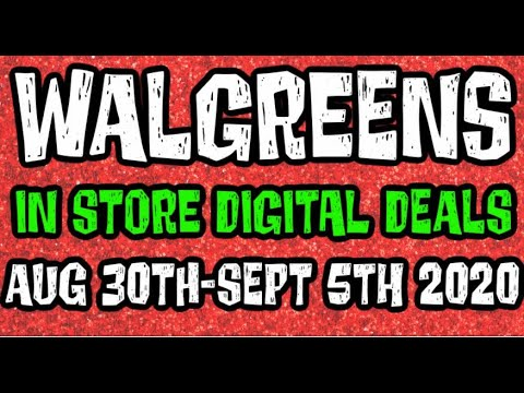 Walgreens Digital Coupons In Store Breakdowns August 30th-September 5th 2020