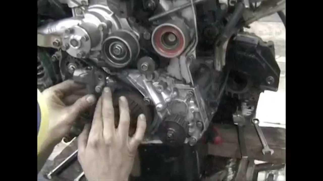 mitsubishi lancer engine belt diagram [ 1280 x 720 Pixel ]