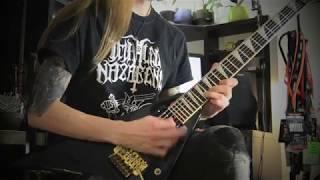 Jackson Guitars artist Kimmo Korhonen Children Of Bodom - Silent Night, Bodom Night guitar cover