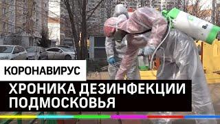 Дезинфекция против коронавируса - Красногорск, Химки и Воскресенск