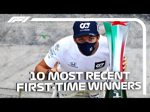 F1's 10 Most Recent First-Time Winners