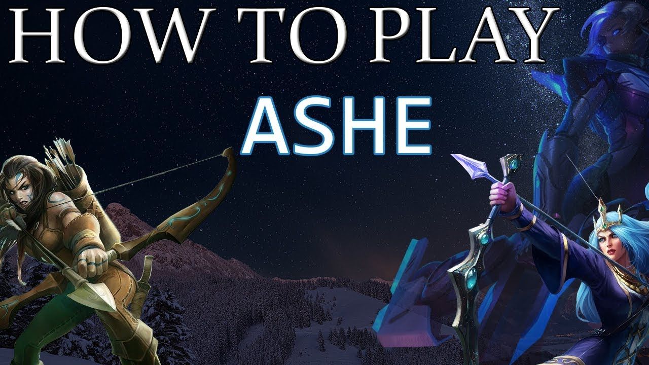 HOW TO PLAY ASHE | Build & Runes | Diamond Commentary ...
