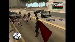 "Обзор мода для GTA: San Andreas ""Kryptonian Mod"""