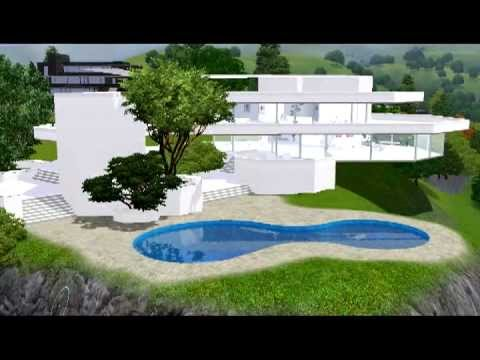 Sims3 My Sims Houses Part X Youtube