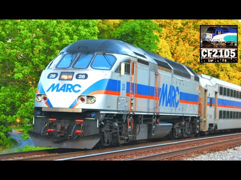 MARC Commuter Trains In Maryland!
