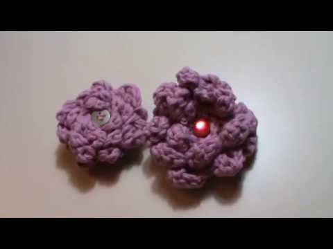 Crochet, sujeta cortinas   youtube