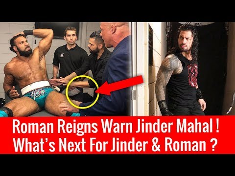 Roman  Warned Jinder After Attack On Raw ! What's Next For Roman & Jinder ? Money inthe bank 2018 !