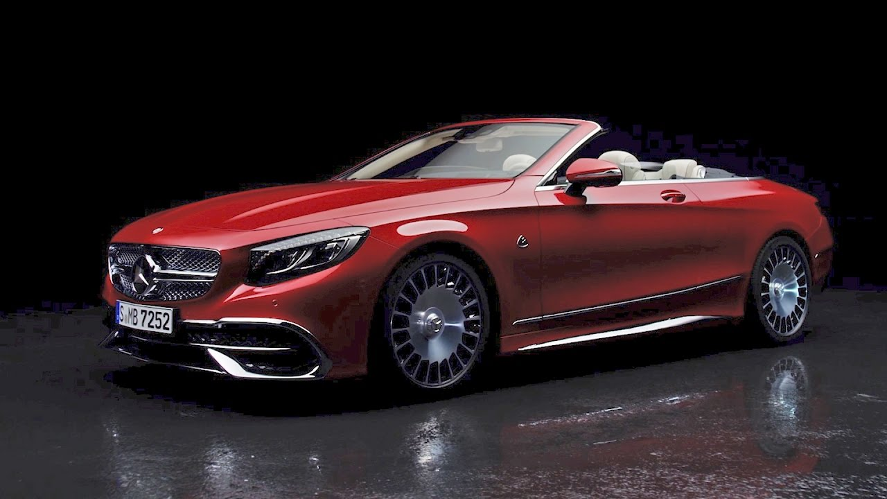 2017 mercedes maybach s 650 cabriolet official video 2016 11 20