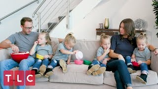 The Busbys Watch OutDaughtered Together! (Part 2)