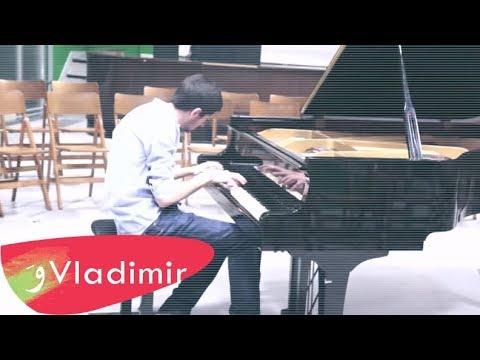 Vladimir Kurumilian - Rehearsal Contemporary Piano Concert - Paris