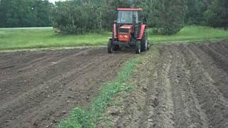 Pryskanie i agregowanie - czyli przygotowanie pola pod tytoń