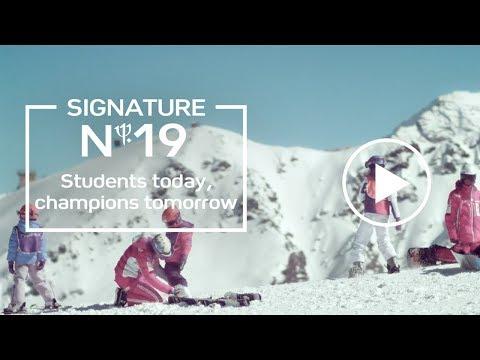 Club Med Ski - Students Today, Champion Tomorrow (Signature 19)