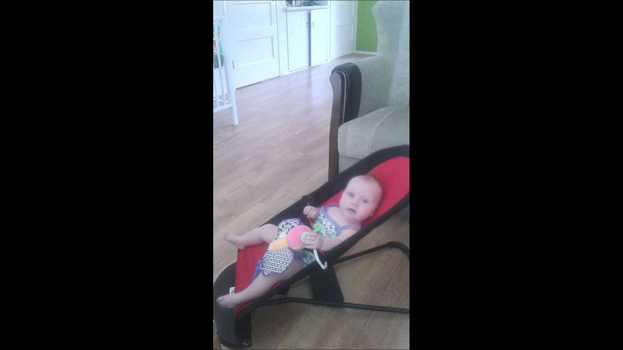 4b897bc2f BabyBjorn baby sitter balance wipper - YouTube