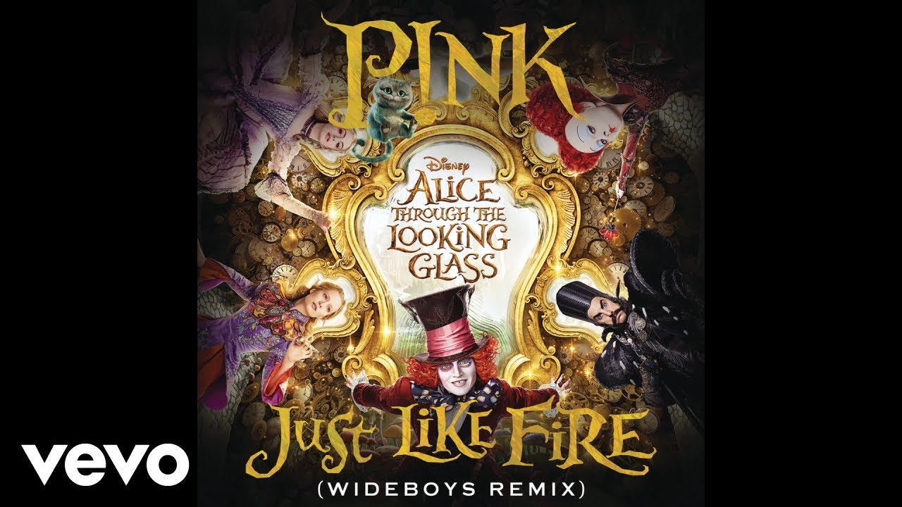 """Download Just Like Fire (From the Original Motion Picture """"Alice Through The Looking Glass"""") (Au..."""