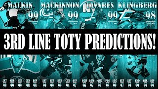 NHL 18 HUT 3rd Line TOTY Predictions Offensive