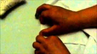 Como hacer una sabana ajustable de cuna