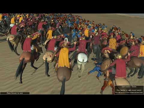 Rome Total War Rome 2 - Maxedonia VS Iceni