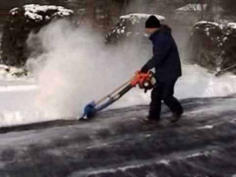 Stihl Mm 55 Power Broom Quick Snow Removeal Doovi