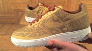 ShoeZeum 1 Of 200 Mark Smith Laser Nike Air Force 1 Premium Cashmere 4fbba30e3a74