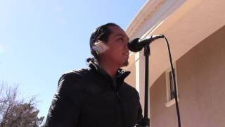 Santa Fe Indian Center - Moral Monday @ New Mexico State Capitol - Karl Duncan  Clip 2