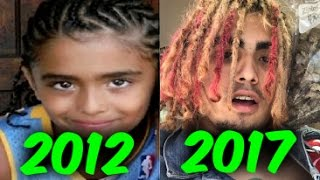 The Evolution of Lil Pump (2012-2017)