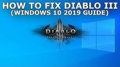 Fix Diablo 3 Stuck, Froze and not Launching on Windows PC Guide 2019