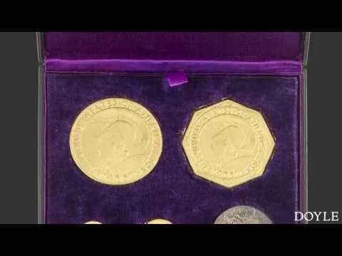 A Rare 1915 Panama-Pacific Coins Set