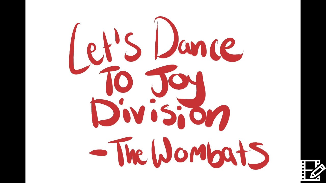 Wombats Let's Dance To Joy Division Sprint Free Tone