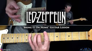 Led Zeppelin - Bring It On Home Guitar Lesson
