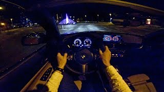 BMW 2 Series Convertible M240i POV NIGHT DRIVE by AutoTopNL