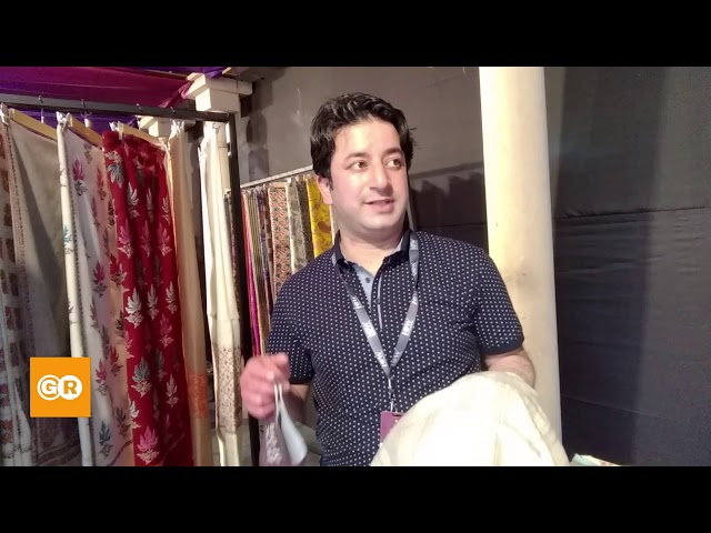 Know everything about Pashmina Shawl || India Craft Week 2021 || Mir Brothers || GroundReport.in