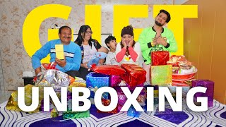 GIFTS UNBOXING.....