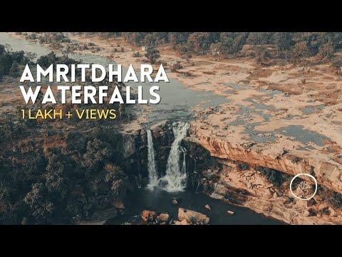 Amritdhara Waterfall,Manendragarh- Chhattisgarh!