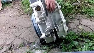 Ремонт стиральной машины indesit wisn 100 как распилить бак самому и заменить подшипники!(, 2016-06-22T19:50:45.000Z)
