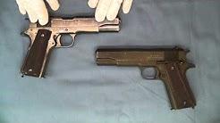 WW 2 Singer Manufacturing Model 1911A1 pistol .45 ACP