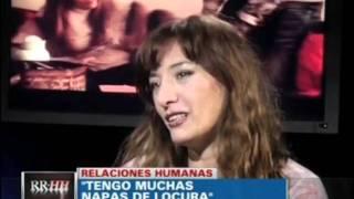 Adelanto de la entrevista de Rolando Hanglin con Sandra Ballesteros