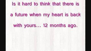 Скачать Megan Liz 12 Months Ago Lyrics