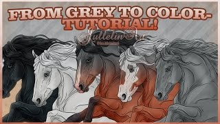 How to Greyscale - Art Tutorial!