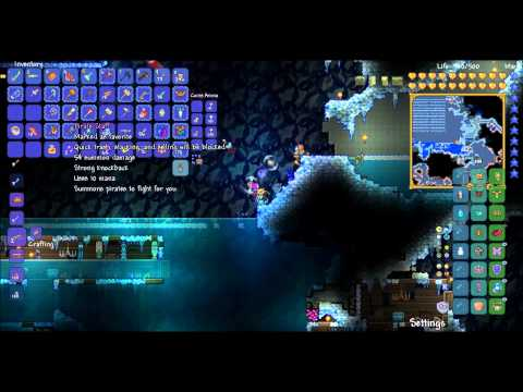 Let's Play Terraria 1.3: Episode 57- Water Candles!