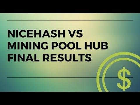 Nicehash VS Mining pool hub EXPERIMENT DAY 3