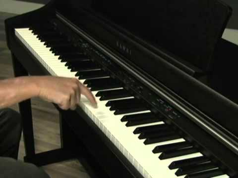 kawai cn33 digital piano demo youtube. Black Bedroom Furniture Sets. Home Design Ideas