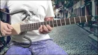 포크 일랙트릭 소음제거  휴대용 기타