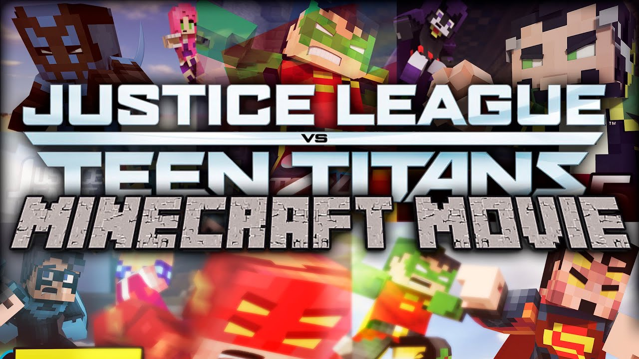 Download Minecraft Movies: Justice League vs Teen Titans The Movie! [1 Hour Movie Animation]