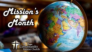 MISSION'S MONTH: Sunday Service 5-2-21