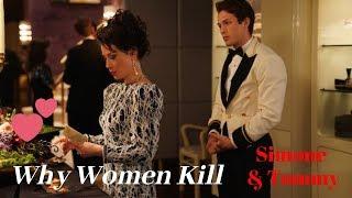 Why Women Kill MV - Simone and Tommy  Bizarre love triangle  episode Lucy Liu  Leo Howard