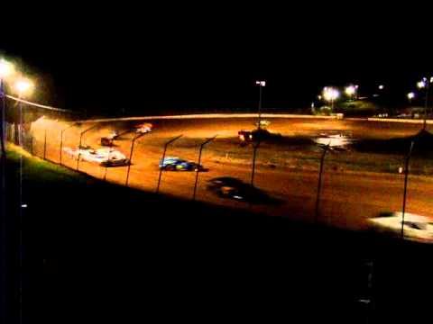Crash at Kopellah Speedway St. Croix Falls Wisconsin