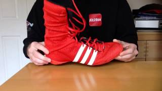 Adidas Adipower Boxing boots review